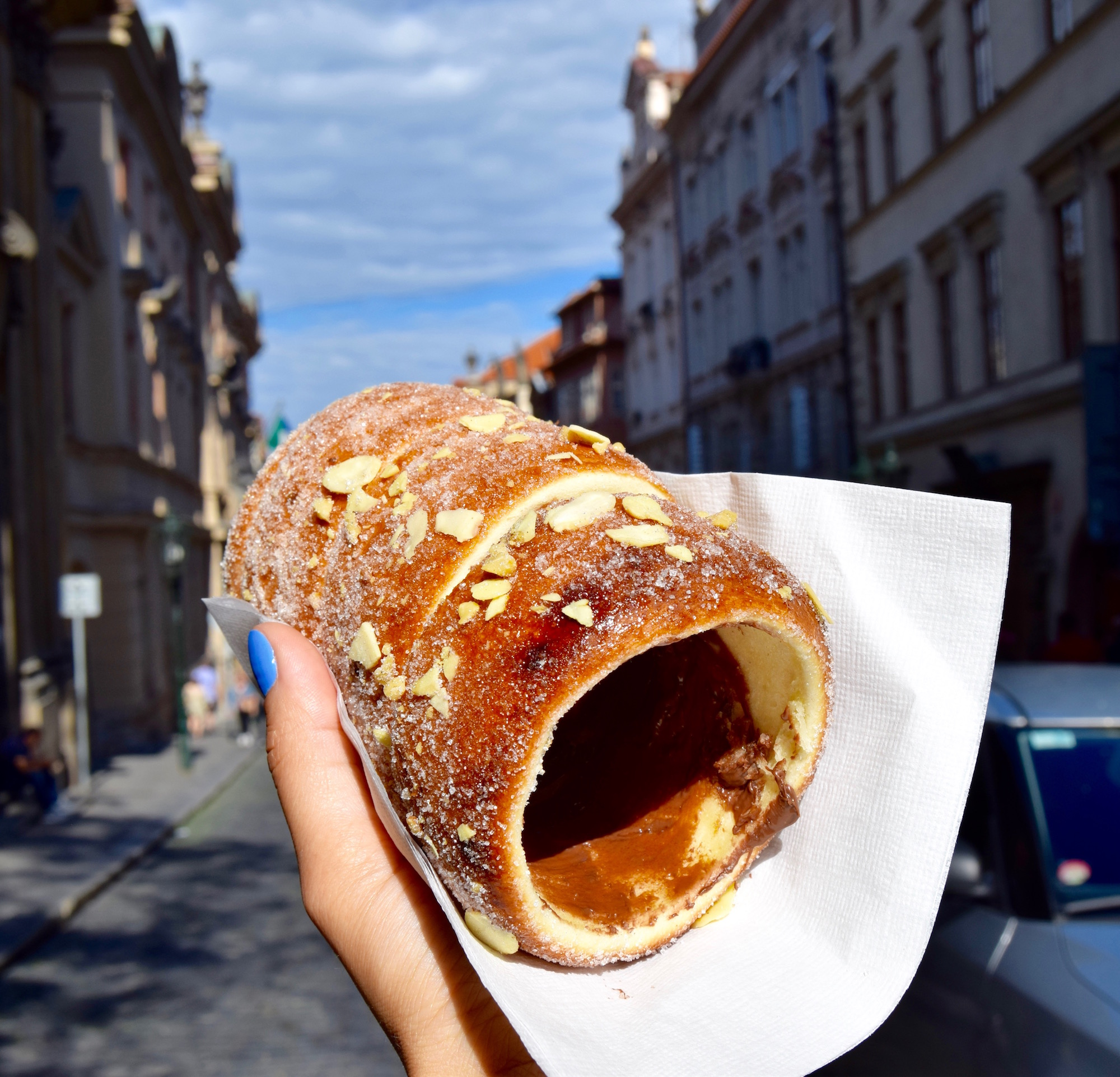 The Very Best Trdelnik In Prague - Heels In My Backpack