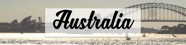 Australia Blog Posts